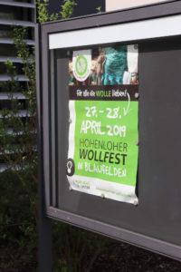 Hohenloher Wollfest 2019